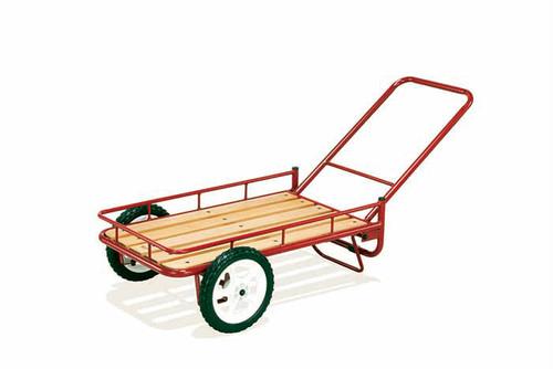HangOut ハングアウト NIGURUMA NGM-7240 荷車 台車 カート 荷物 カゴ キャリー タイヤ 大きい ウッド 荷台 丈夫 折りたたみ 小さく 簡単 収納 楽ちん ベルト 付属