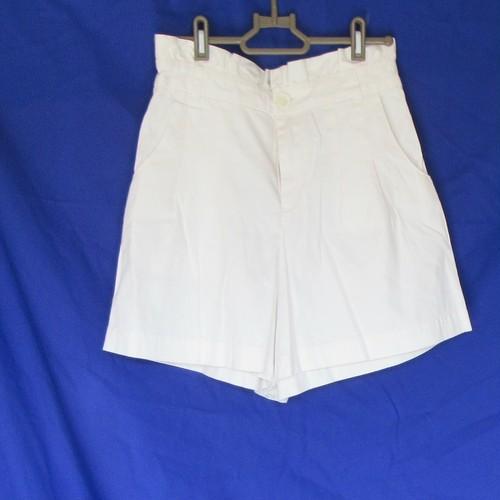 デニム ショートパンツ 白 中古 Mサイズ