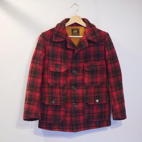 "J.O.BALLARD&CO 1930's Wool Mackinaw Jacket ""MALONE COAT"""