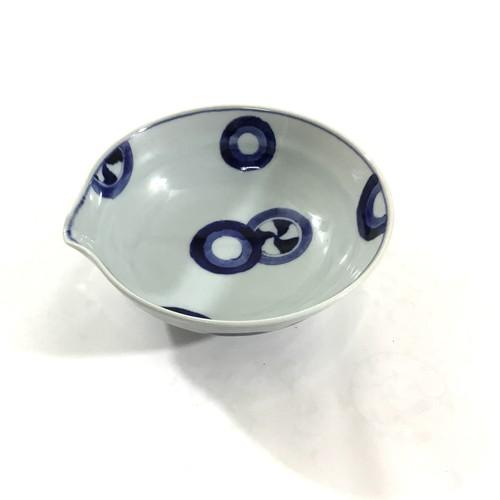 丸紋片口鉢