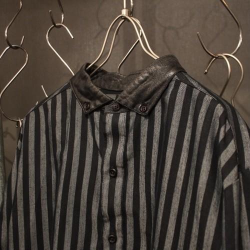 Long Sleeve Stripe Design Shirt