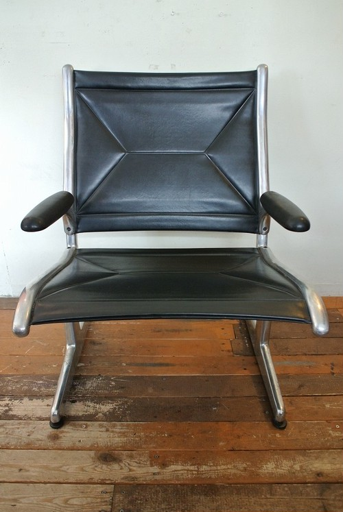 70's Hermanmiller Tandem Sling Seating 1Seater by Eames