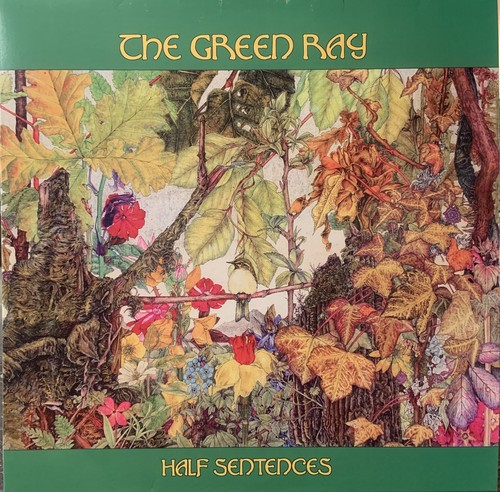 【LP】THE GREEN RAY/Half Sentences