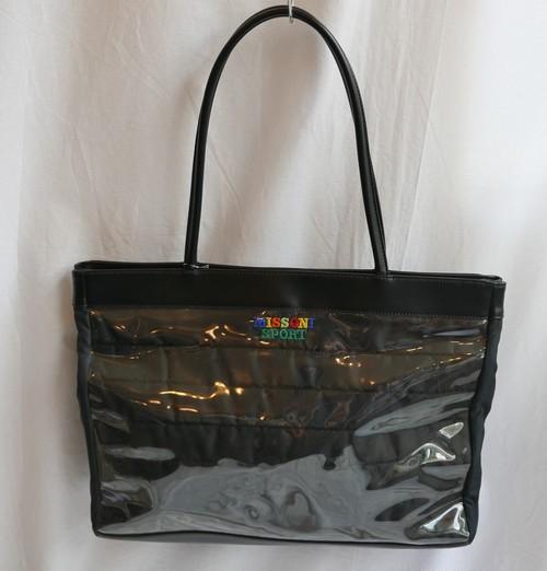 missoni Black Nylon Tote Bag