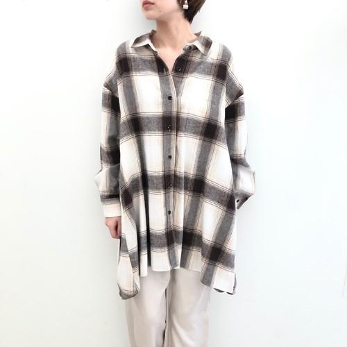 【 CHIGNONSTAR 】- 1292-446 - マルチWAYチュニックシャツ