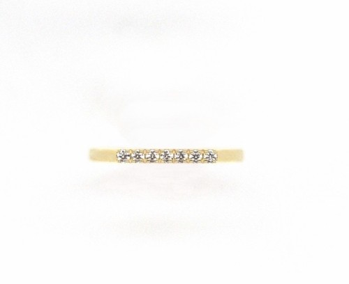 Amulet angel LADDER dia ring K18YG