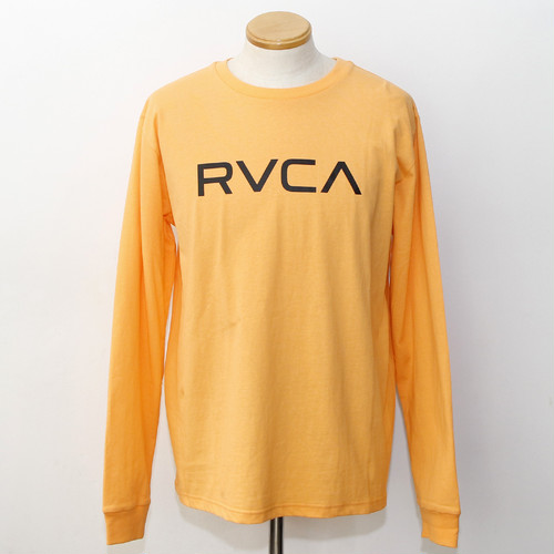 BIG RVCA LS TEE (ORANGE)