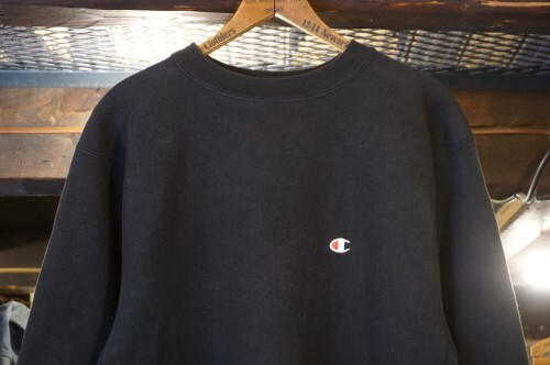 "90's CHAMPION black reverse weave Sweat ""Made in U.S.A."""