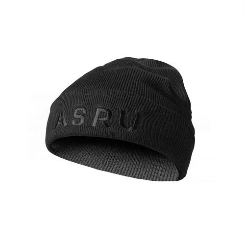 完売御礼【ASRV】サーマルウールキャップ - Black