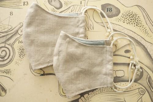 no.1) Linen Beige Mask