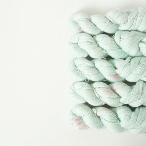 葉桜の季節 (Baby Alpaca lace)