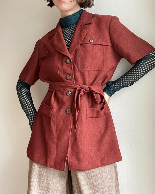 Short‐sleeved  Jacket