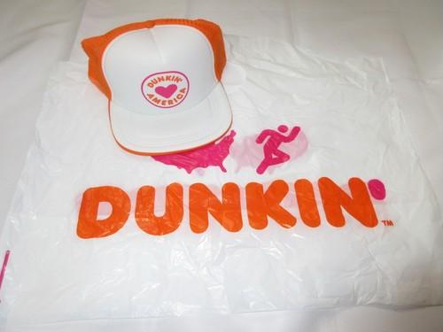 DUNKIN' DONUTS ダンキンドーナツ メッシュキャップ #1  オフィシャル 新品