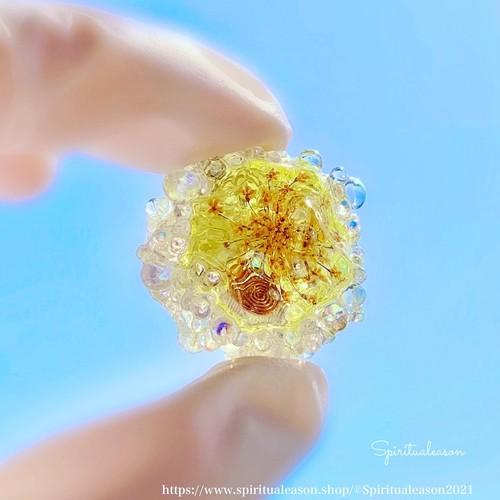 『風に乗せるこころ』/浄化の泡オルゴナイト