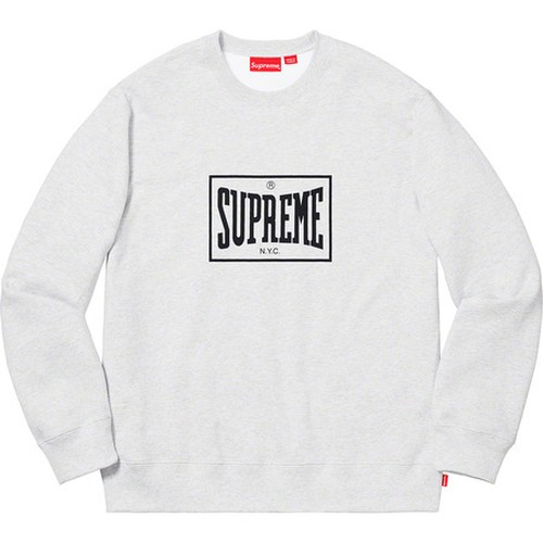 Supreme Warm Up Crewneck