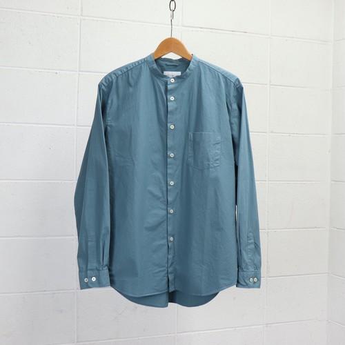 【Manual Alphabet】 LOOSE FIT BAND COLLAR SHIRT (3色) マニュアルアルファベット バンドカラーシャツ  日本製 MADE IN JAPAN