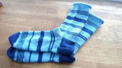 靴下【手編み】