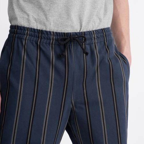 Drawstring Pant(Grey Stripe)
