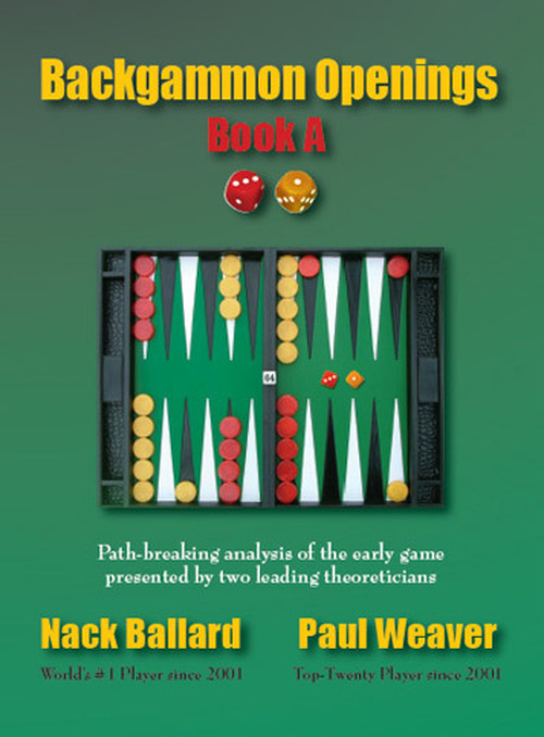 Backgammon Openings Book A(日本語訳あり)