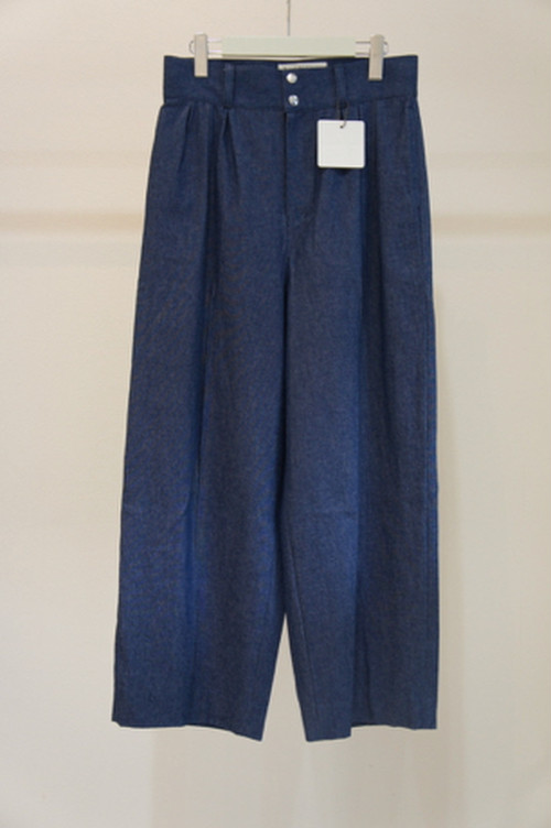 3TAC WIDE DENIM -LIGHT BLUE- / banal chic bizarre