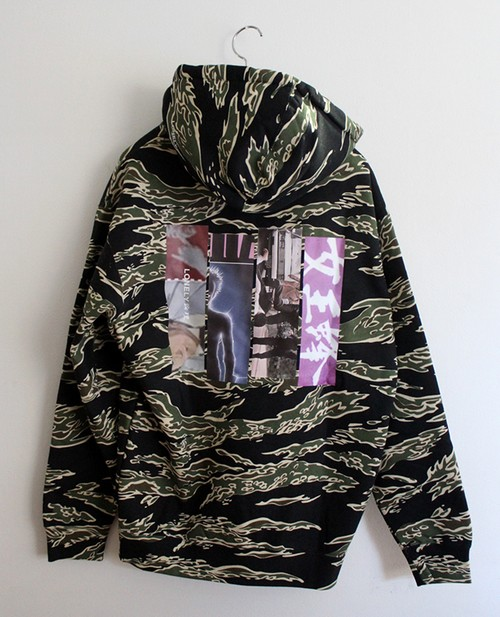 "LONELY論理#9 ""JAPONISM CULT"" HOODIE / TIGER CAMO"
