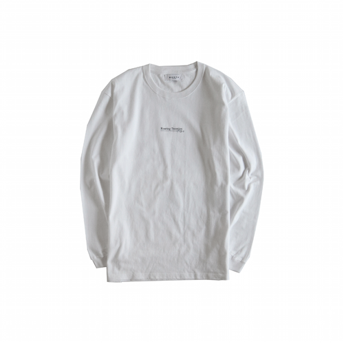 Graphic L/S T-Shirts (White)