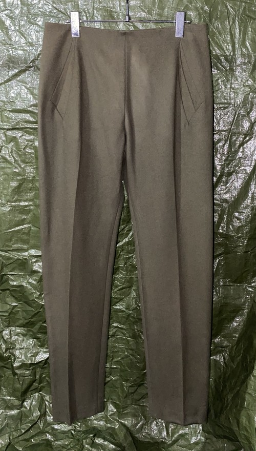 AW1996 HUSSEIN CHALAYAN PLEATED TROUSERS