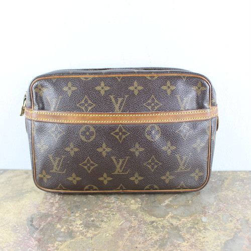 .LOUIS VUITTON M51847 TH8902 MONOGRAM PATTERNED CLUTCH BAG MADE IN FRANCE/ルイヴィトンコンピエーニュ23モノグラム柄クラッチバッグ 2000000054117