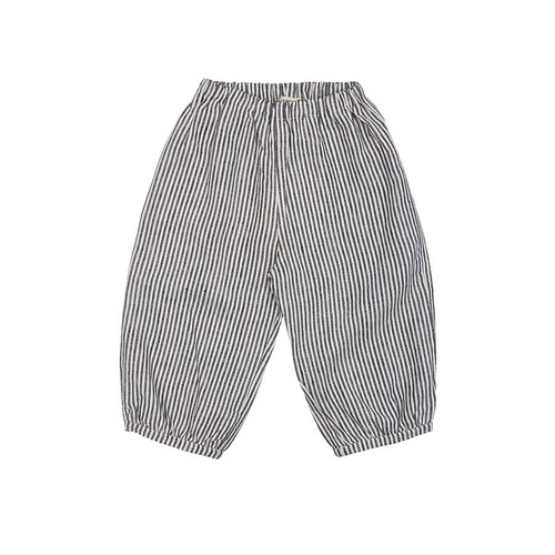 《AS WE GROW 2020SS》Bubble Pants /  grey stripe