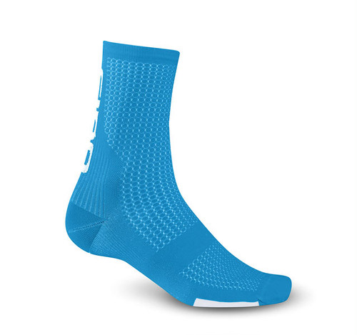GIRO HRC TEAM SOCKS /Blue Jewel / White