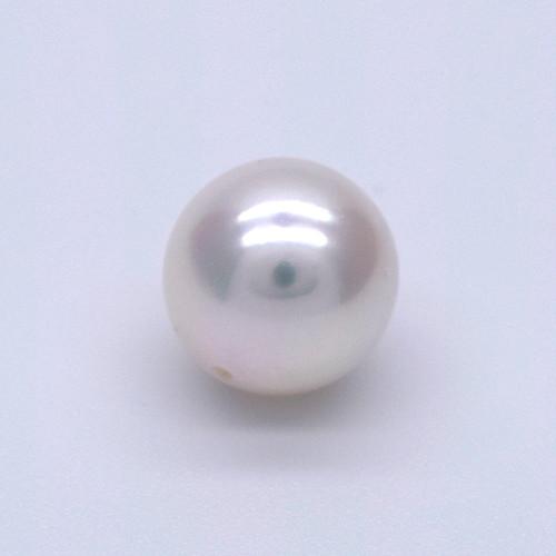 SALE アコヤ真珠 1粒 7.5mm~8.0mm ラウンド系 貫通穴 ルース あこやパール 6月 誕生石