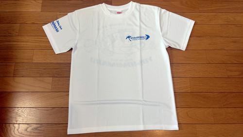 芳美丸 ドライTシャツ ホワイト