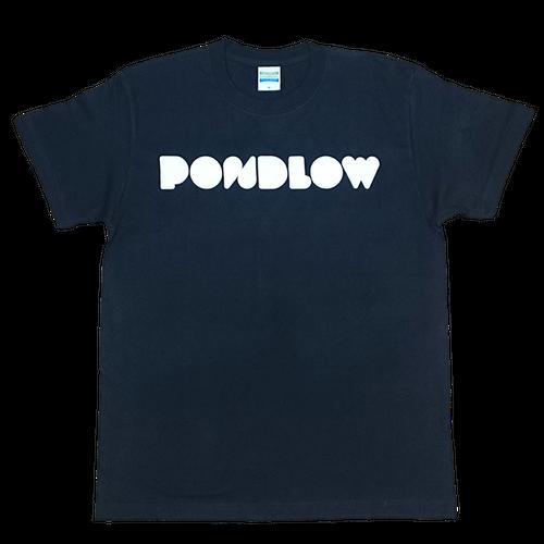 PONDLOWロゴTシャツ Black