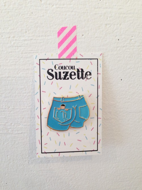 Coucou Suzette POCKET PIN