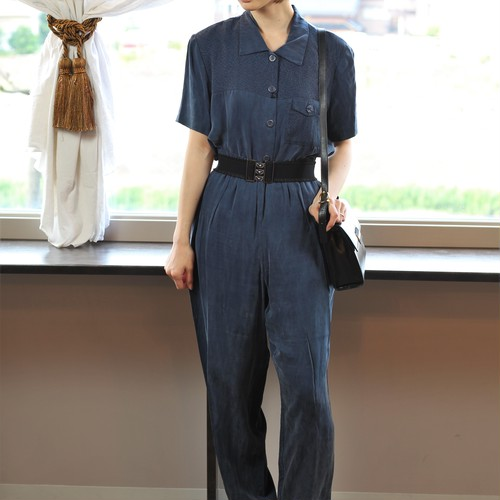 USA VINTAGE HALF SLEEVE SET UP MADE IN USA/アメリカ古着半袖セットアップ