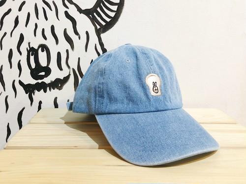 刺繍cap デニム フリーサイズ