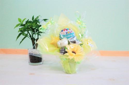お誕生日用卓上バルーンギフトB(バルーンアレンジ) 送料込み 引き取りの場合2,500円