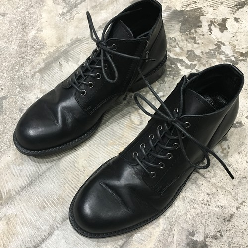 【PADRONE】 CHUKKA BOOTS with SIDE ZIP