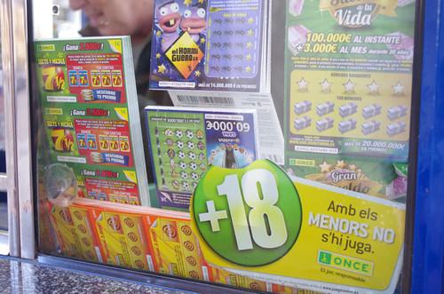 終了/バルセロナにいるOumaが宝くじを買うっていうサービス