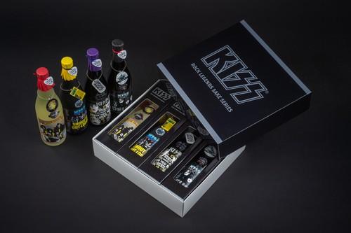 KISS「ロックレジェンズ酒シリーズ」4本セット 第3弾 オリジナルBOX付