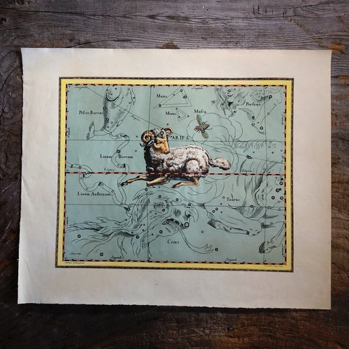 天文図版「牡羊座」
