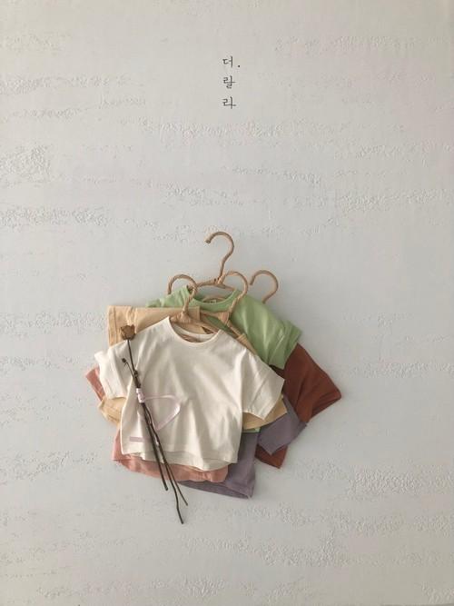 『翌朝発送』crayon plain T-shirt〈Lala〉