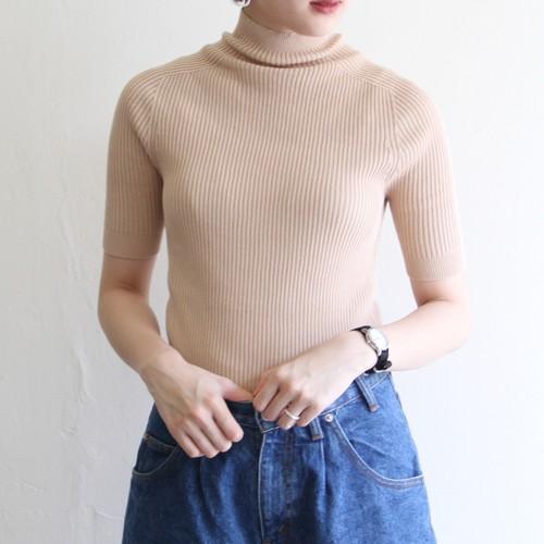 UNION LAUNCH  【 womens 】hi neck short sleeve