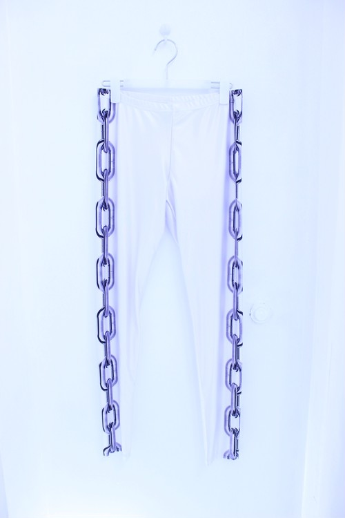 LOCKED UP LEGGINGS WHITE