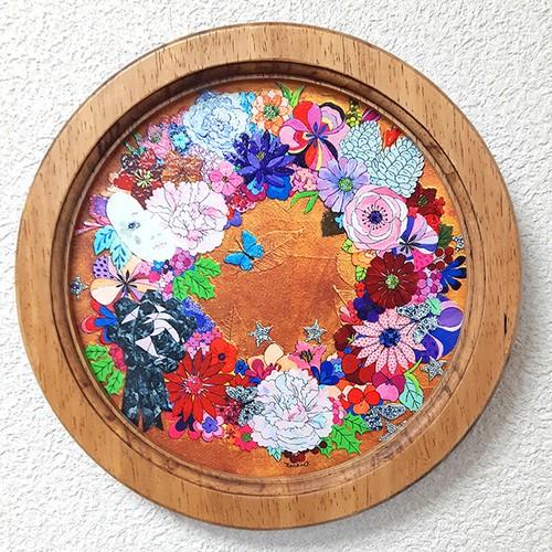 round brilliant flower