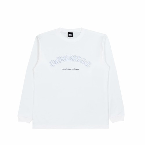 MFC STORE OL STACK L/S TEE / WHITE