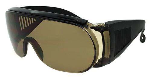 オーバーグラス サングラス  zo7106-2 メガネ の上から着用可能 メンズ レディース サイドガード 花粉 防塵 にも オススメ
