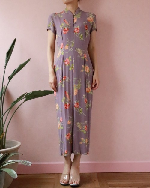 Flower china dress