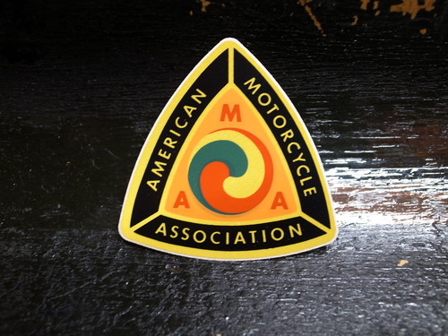 AMA Vintage Sticker American Motorcycle Association