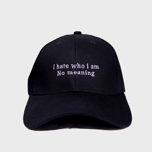 """Meaning""Cap(Purple)"